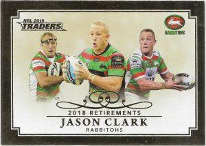 2019 Traders Club Retirements (R 12) Jason Clark Rabbitohs