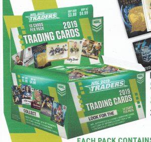 2019 NRL Traders Factory Sealed Box