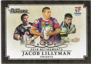 2019 Traders Club Retirements (R 6) Jacob Lilyman Knights