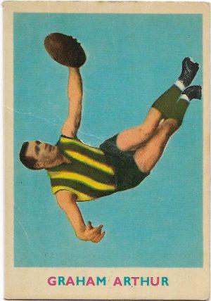 1963 VFL Scanlens (13) Graham Arthur Hawthorn