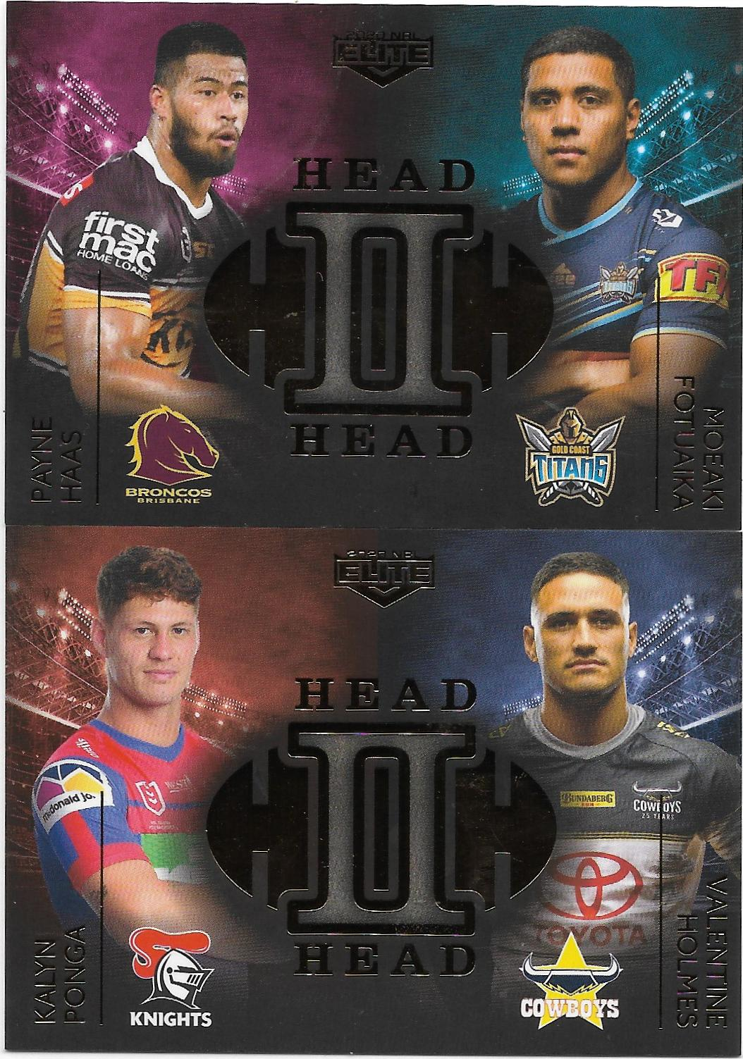 Case Cards Head To Head