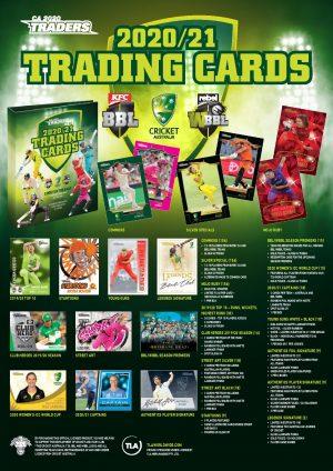 2020 / 21 TLA Cricket Australia FACTORY SEALED Case (No CASE CARD)