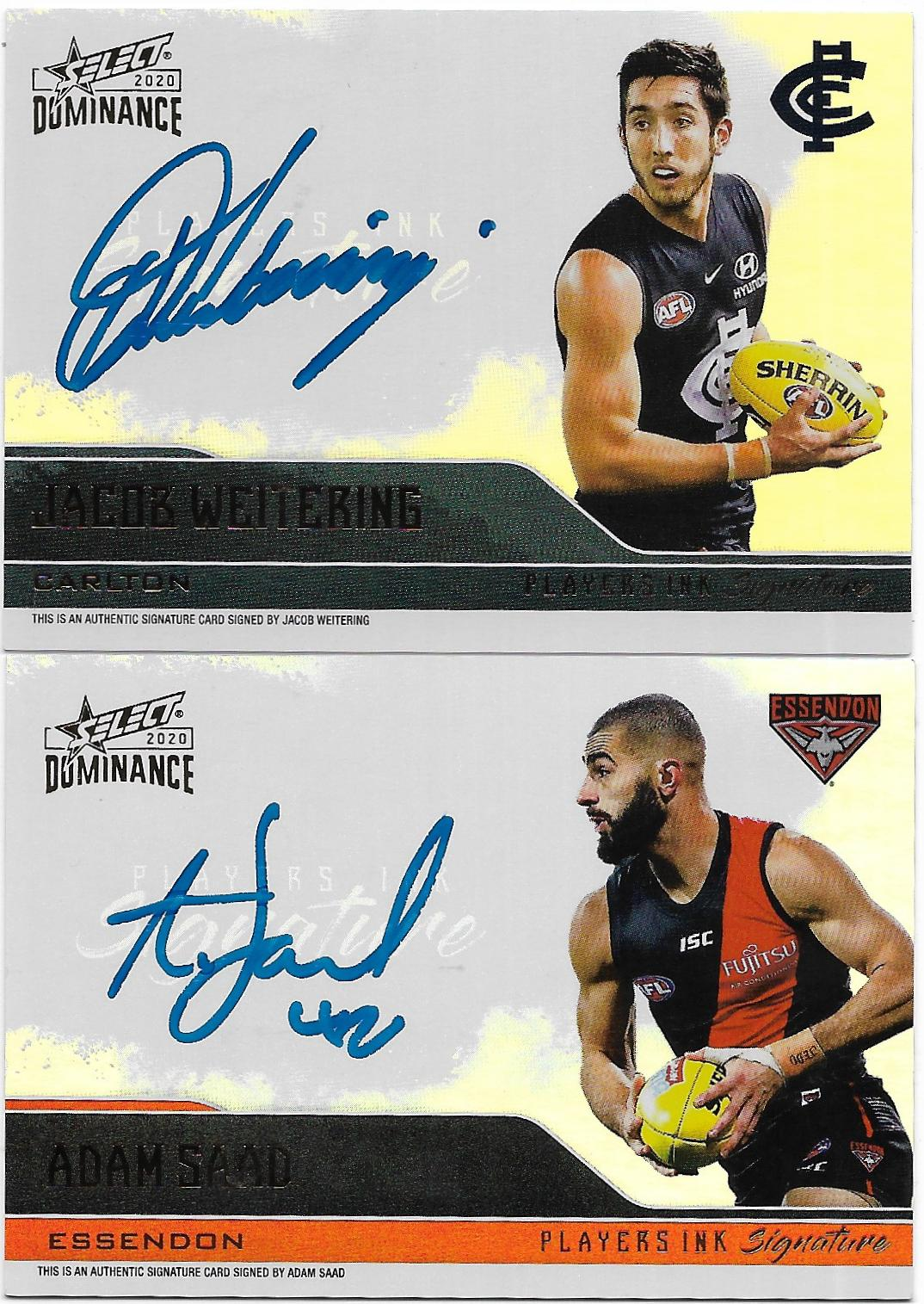 Player Ink Signatures