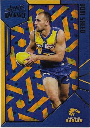 2020 Dominance Holofoil Parallel (HP204) Dom SHEED West Coast 143/350