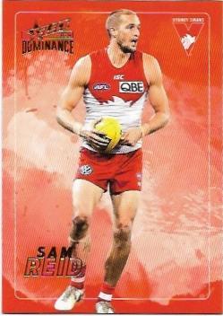 2020 Select Dominance Base Card (191) Sam REID Sydney
