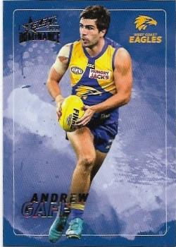 2020 Select Dominance Base Card (196) Andrew GAFF West Coast