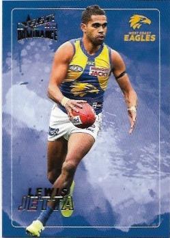 2020 Select Dominance Base Card (197) Lewis JETTA West Coast
