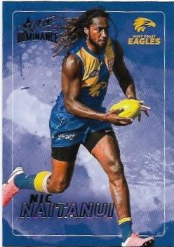2020 Select Dominance Base Card (200) Nic NAITANUI West Coast