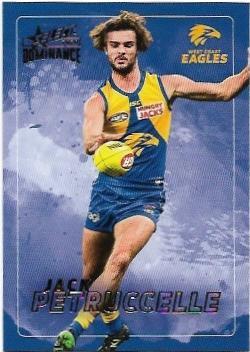 2020 Select Dominance Base Card (201) Jack PETRUCCELLE West Coast