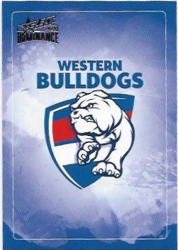 2020 Select Dominance Base Card (206) CHECKLIST Western Bulldogs