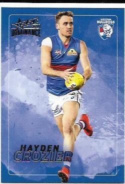2020 Select Dominance Base Card (209) Hayden CROZIER Western Bulldogs
