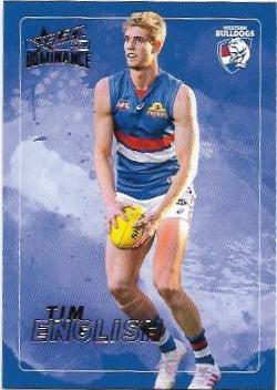 2020 Select Dominance Base Card (210) Tim ENGLISH Western Bulldogs