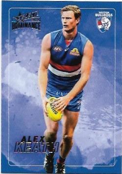 2020 Select Dominance Base Card (212) Alex KEATH Western Bulldogs