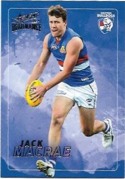 2020 Select Dominance Base Card (213) Jack MACRAE Western Bulldogs