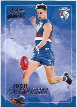 2020 Select Dominance Base Card (215) Josh SCHACHE Western Bulldogs
