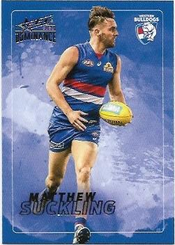 2020 Select Dominance Base Card (216) Matthew SUCKKLING Western Bulldogs