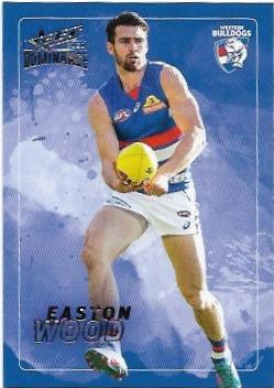 2020 Select Dominance Base Card (217) Easton WOOD Western Bulldogs