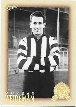 2012 Select Hall Of Fame (192) Murray Weideman Collingwood