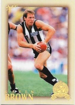 2012 Select Hall Of Fame (193) Gavin Brown Collingwood