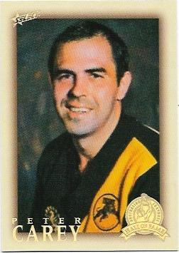 2012 Select Hall Of Fame (200) Peter Carey Glenelg
