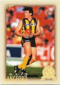 2012 Select Hall Of Fame (202) Chris Langford Hawthorn