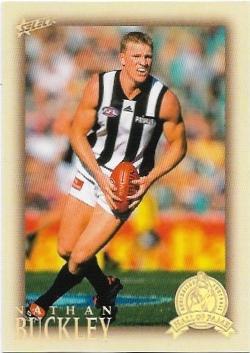 2012 Select Hall Of Fame (213) Nathan Buckley Collingwood