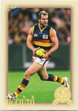 2012 Select Hall Of Fame (214) Mark Ricciuto Adelaide