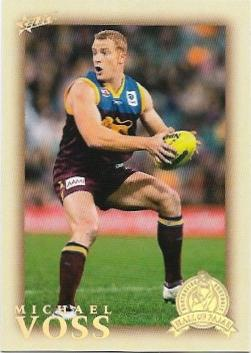 2012 Select Hall Of Fame (215)  Michael Voss Brisbane
