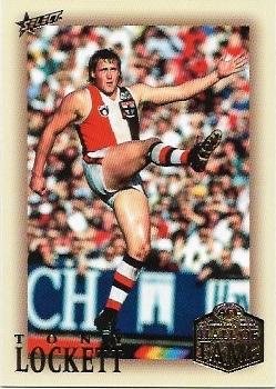 2018 Select Hall Of Fame (219) Tony Lockett St. Kilda / Sydney
