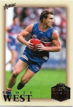 2018 Select Hall Of Fame (229) Scott West Western Bulldogs