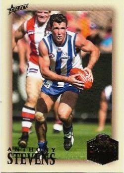 2018 Select Hall Of Fame (250) Anthony Stevens North Melbourne