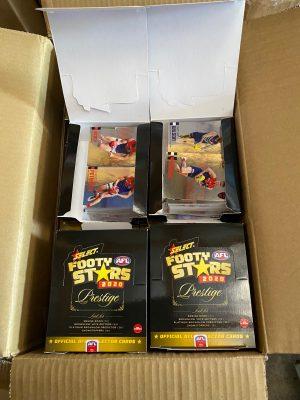 2020 Select Footy Stars Prestige Case Of Base Cards (Appox 10 Sets) NO INSERTS