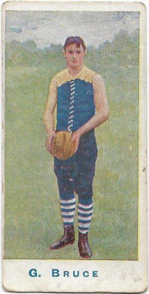 1904 Sniders & Abrahams Series A – Carlton – George Bruce