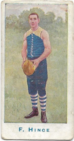 1904 Sniders & Abrahams Series A – Carlton – Frank Hince