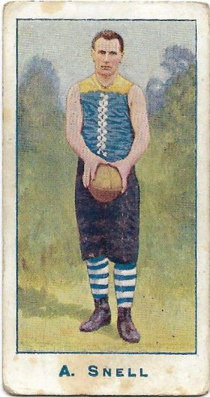 1904 Sniders & Abrahams Series A – Carlton – Arch Snell