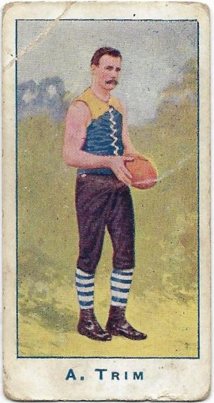 1904 Sniders & Abrahams Series A – Carlton – Albert Trim