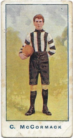 1904 Sniders & Abrahams Series A – Collingwood – Cornellius McCormack