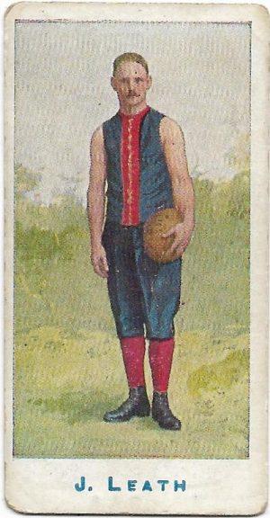 1904 Sniders & Abrahams Series A – Melbourne – J. G. Leath