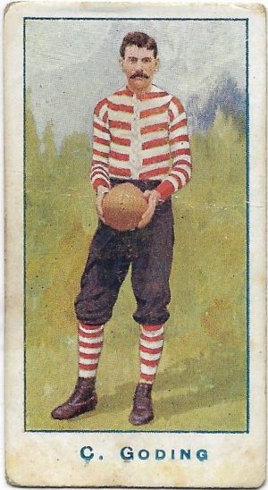 1904 Sniders & Abrahams Series A – South Melbourne – C. (Harry) Golding
