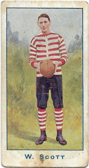 1904 Sniders & Abrahams Series A – South Melbourne – William Scott