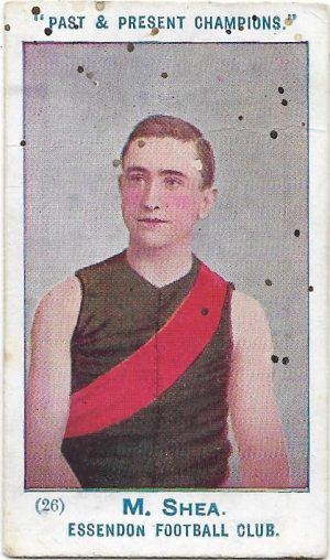 1905 Past & Present Champions – Essendon – Mark Shea