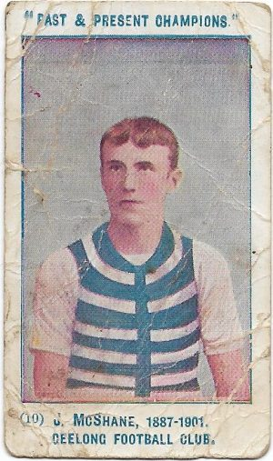 1905 Past & Present Champions – Geelong – Joe McShane