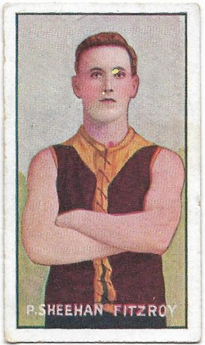 1907 Series C Sniders & Abrahams – Fitzroy – Percy Sheehan