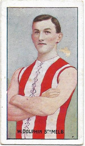 1907 Series C Sniders & Abrahams – South Melbourne – William Dolphin
