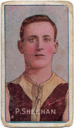 1908 Series D Sniders & Abrahams – Fitzroy – Percy Sheehan