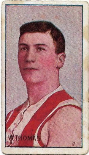 1908 Series D Sniders & Abrahams – South Melbourne – William Thomas