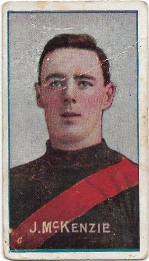1908 Series D Sniders & Abrahams – Essendon – Jack McKenzie