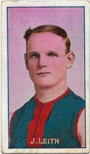 1908 Series D Sniders & Abrahams – Melbourne – J. Leith