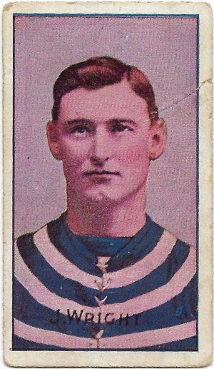 1908 Series D Sniders & Abrahams – Geelong – Jack Wright