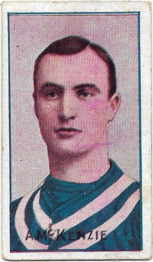 1908 Series D Sniders & Abrahams – Geelong – Alec McKenzie